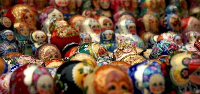 Matushkoja Moskovassa